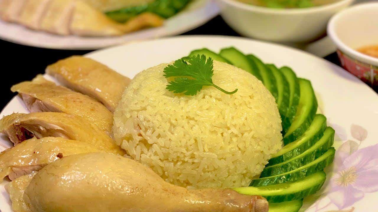 Cơm gà Hải Nam_cách nấu cơm gà và pha nước chấm chuẩn vị tuyệt ngon_Bếp Hoa  - YouTube