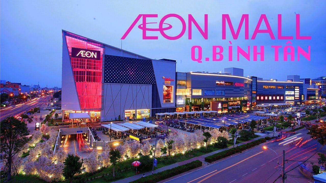 AEON MALL Bình Tân khai trương siêu thị khu Tên Lửa thành phố Hồ Chí Minh -  ZaiTri - YouTube