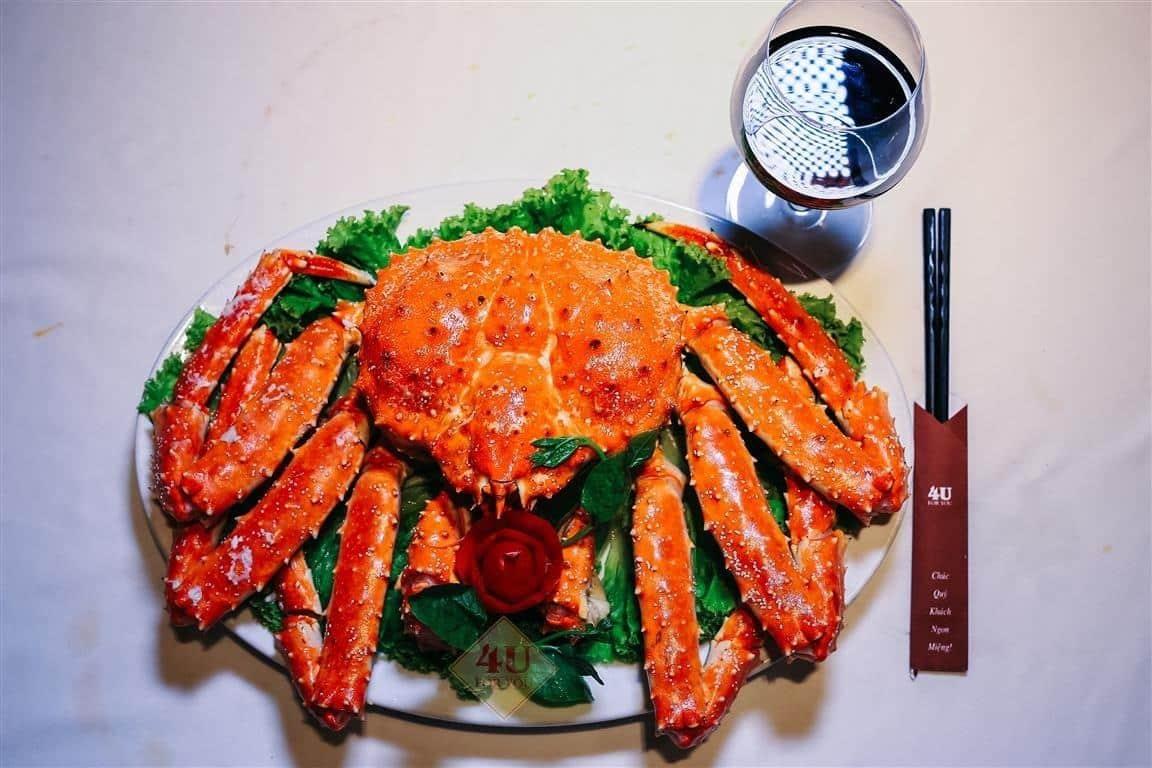 CUA HOÀNG ĐẾ / King Crab – 4U Seafood
