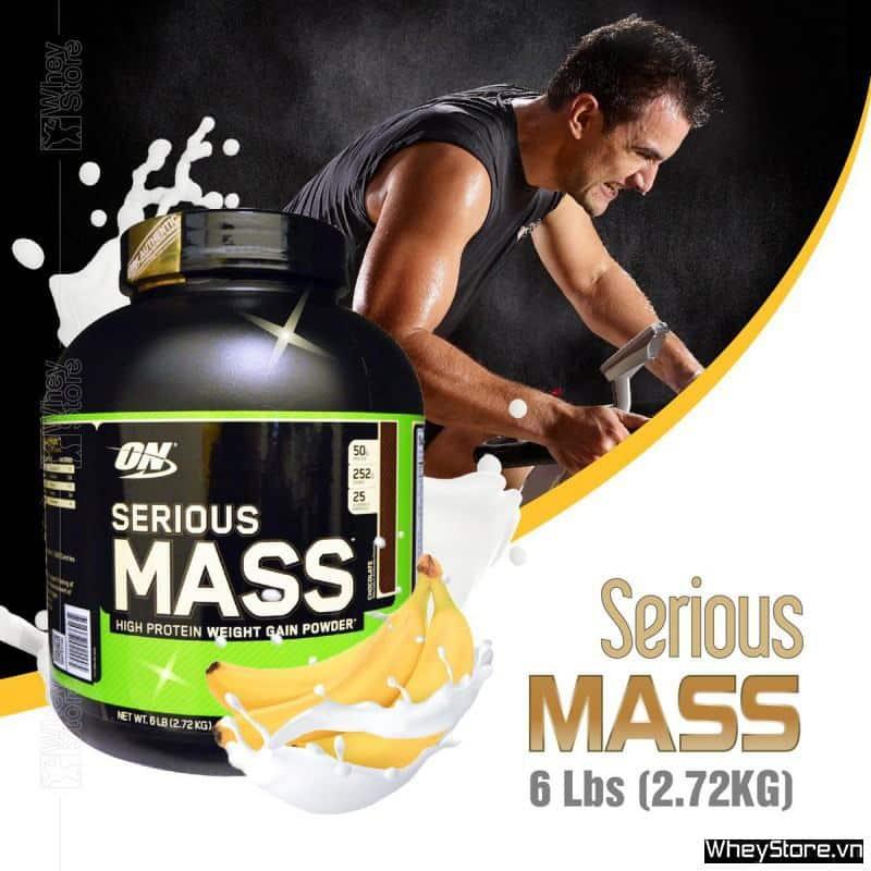 Serious Mass 6 Lbs (2.72KG) - Giá tốt nhất thị trường