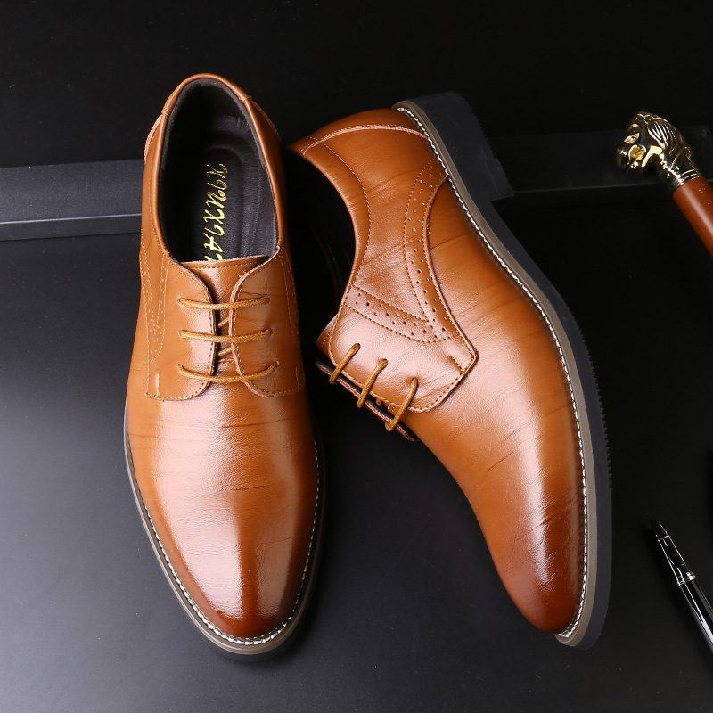 Địa chỉ mua giày tây nam đẹp chất lượng, uy tín tại TP.HCM