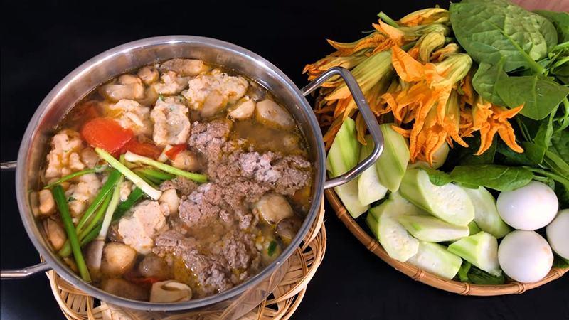 Cách nấu lẩu cua đồng hột vịt lộn thơm ngon không tanh bổ dưỡng