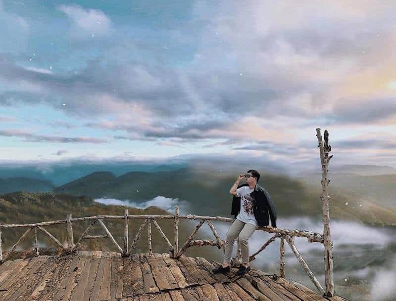 """Cầu gỗ săn mây ở Đà Lạt lại treo bảng """"cấm khách tham quan"""""""