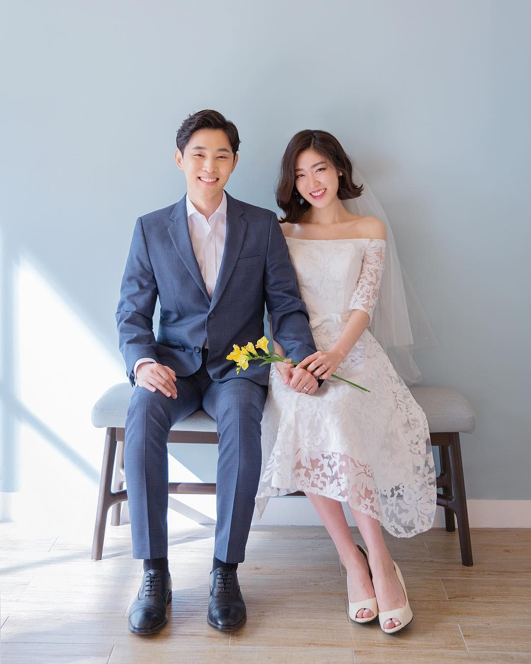 Chụp hình cưới trong Studio theo phong cách Hàn Quốc - Nicole Bridal
