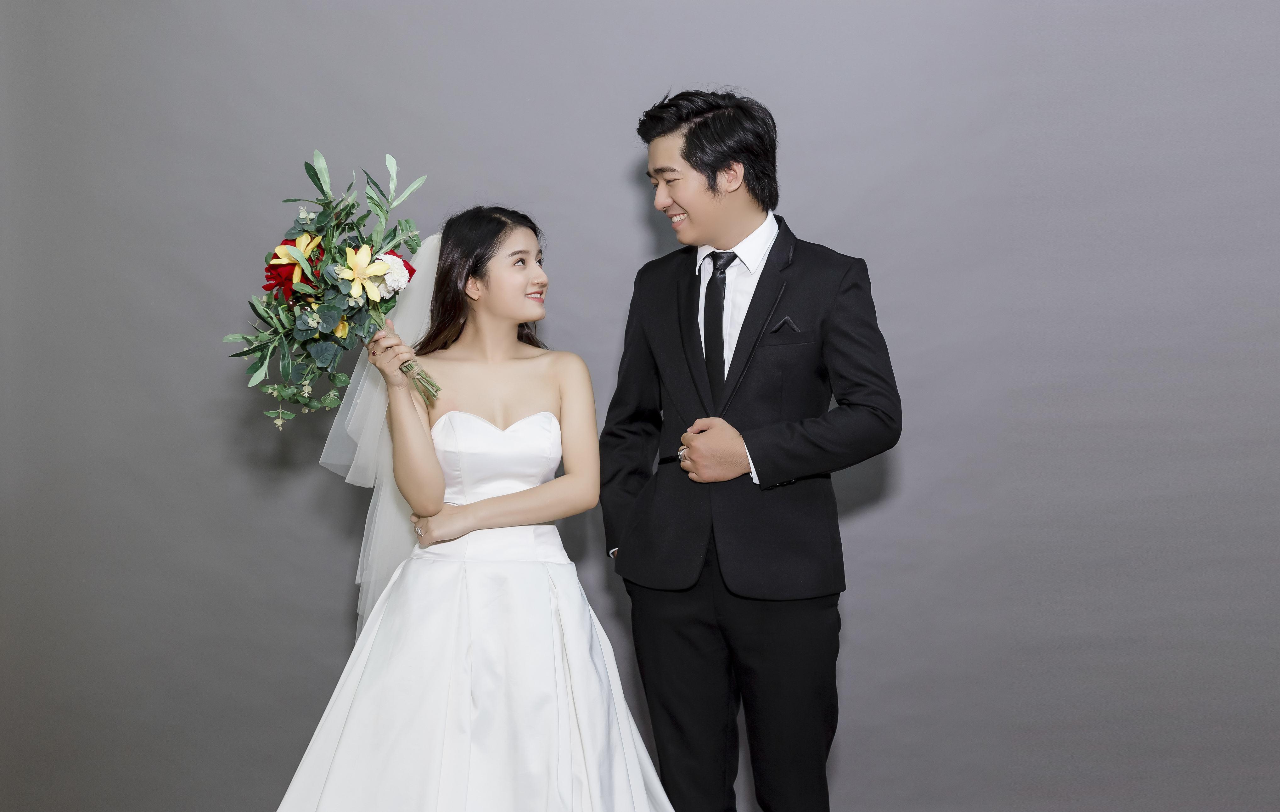Tổng hợp những ý tưởng chụp hình cưới Hàn Quốc đơn giản đẹp ngay tại studio