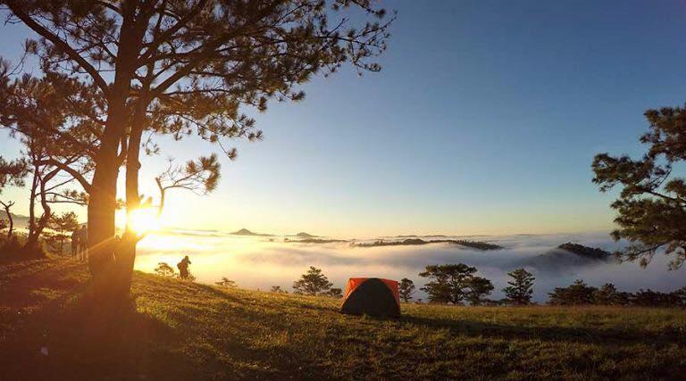 Hành trình lên đồi Đa Phú Đà Lạt cắm trại ngắm sao băng   Thông Tin Đà Lạt