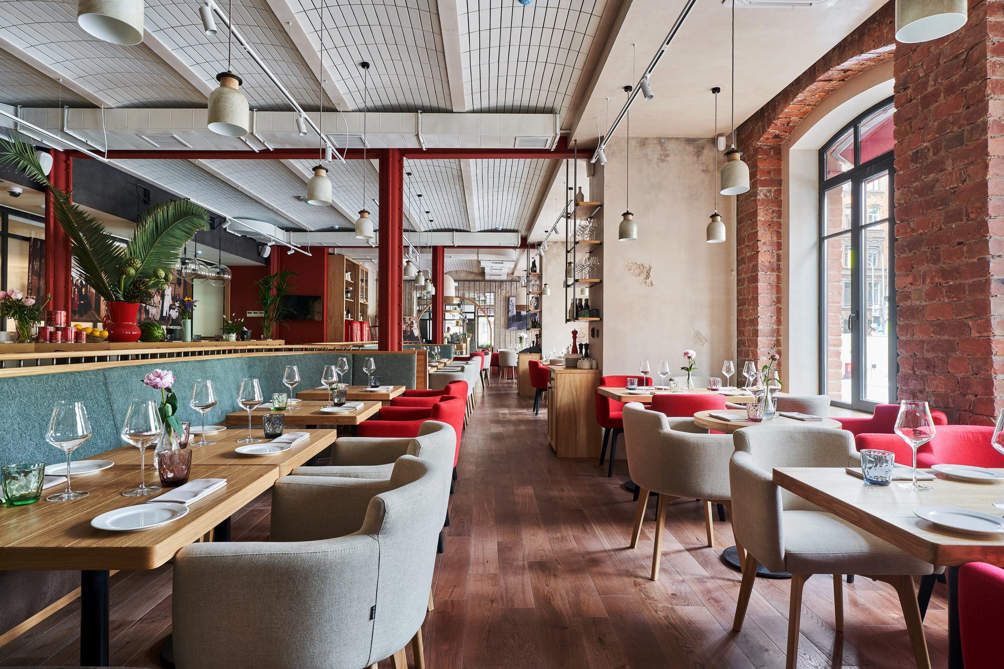 Italy Restaurant / PAUM design | ArchDaily