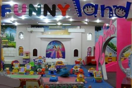 Funny Land – sắc màu thân thiện dành cho bé | Khu vui chơi trẻ em