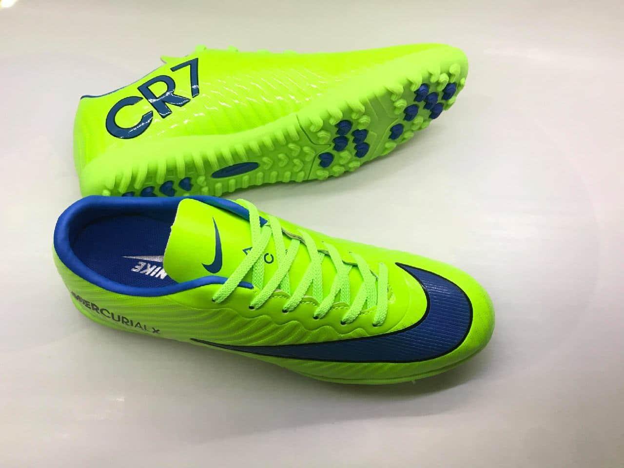 Giày bóng đá Nike MercurialX xanh lá - Giày bóng đá Futsal - OU SPORT