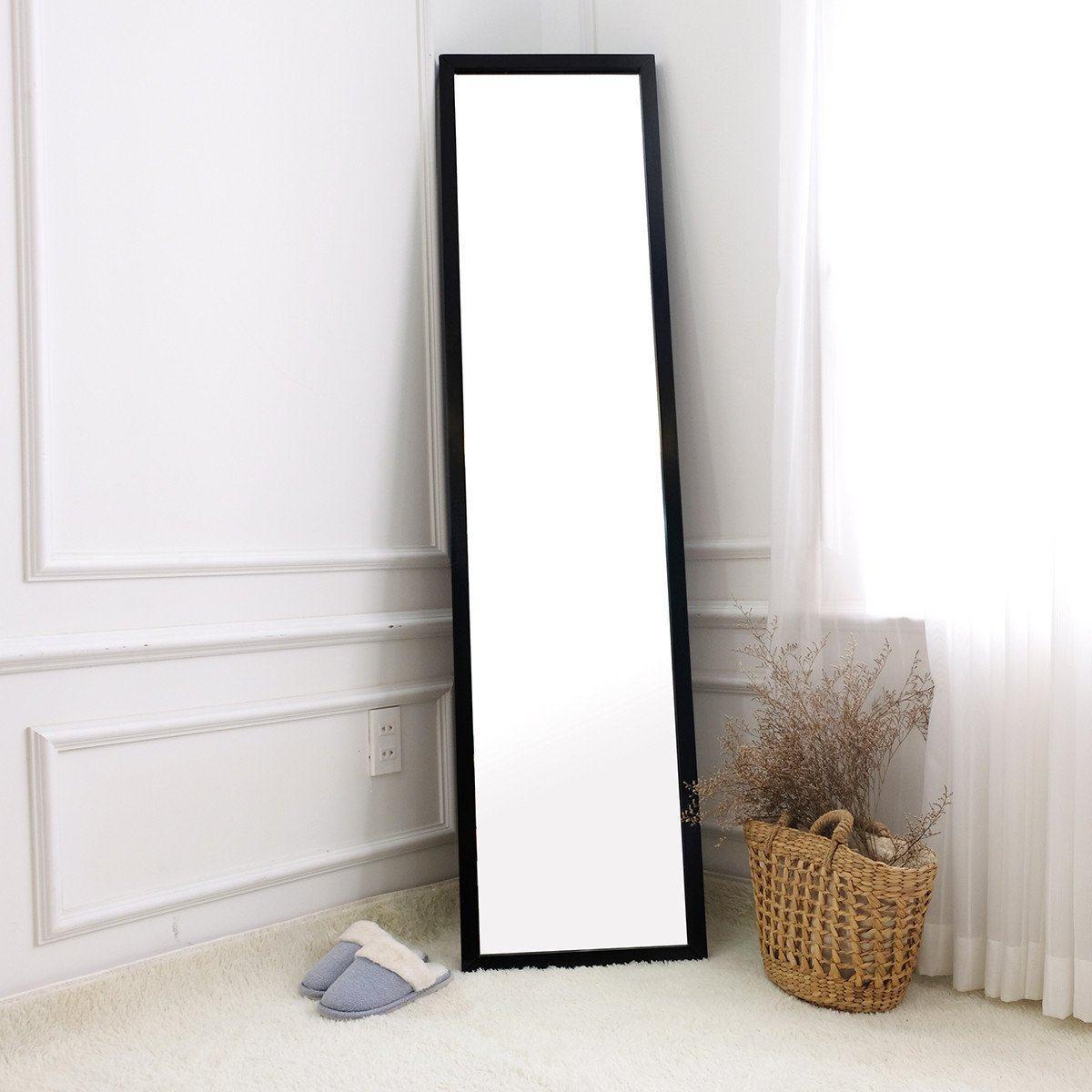 Gương đứng soi toàn thân trang điểm khung gỗ Hàn Quốc Standing Mirror BEYOURs - Màu đen giá tốt - 2841 | Fitinvn