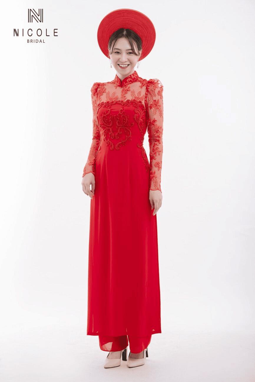 Nicolebridal - Địa chỉ cung cấp áo dài cô dâu uy tín, giá rẻ
