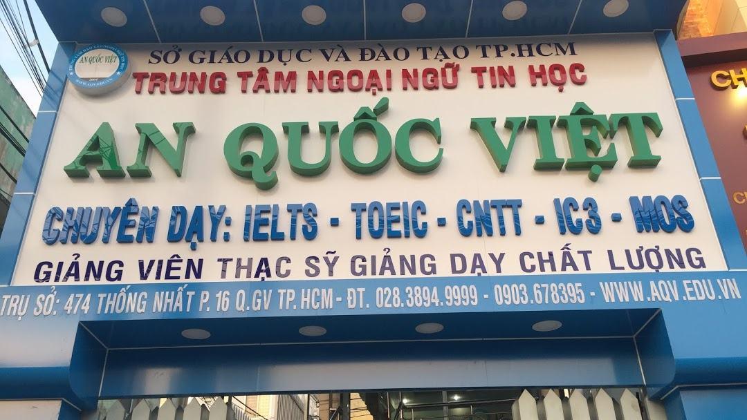 Trung Tâm Ngoại Ngữ Tin Học An Quốc Việt TPHCM - Giáo Dục