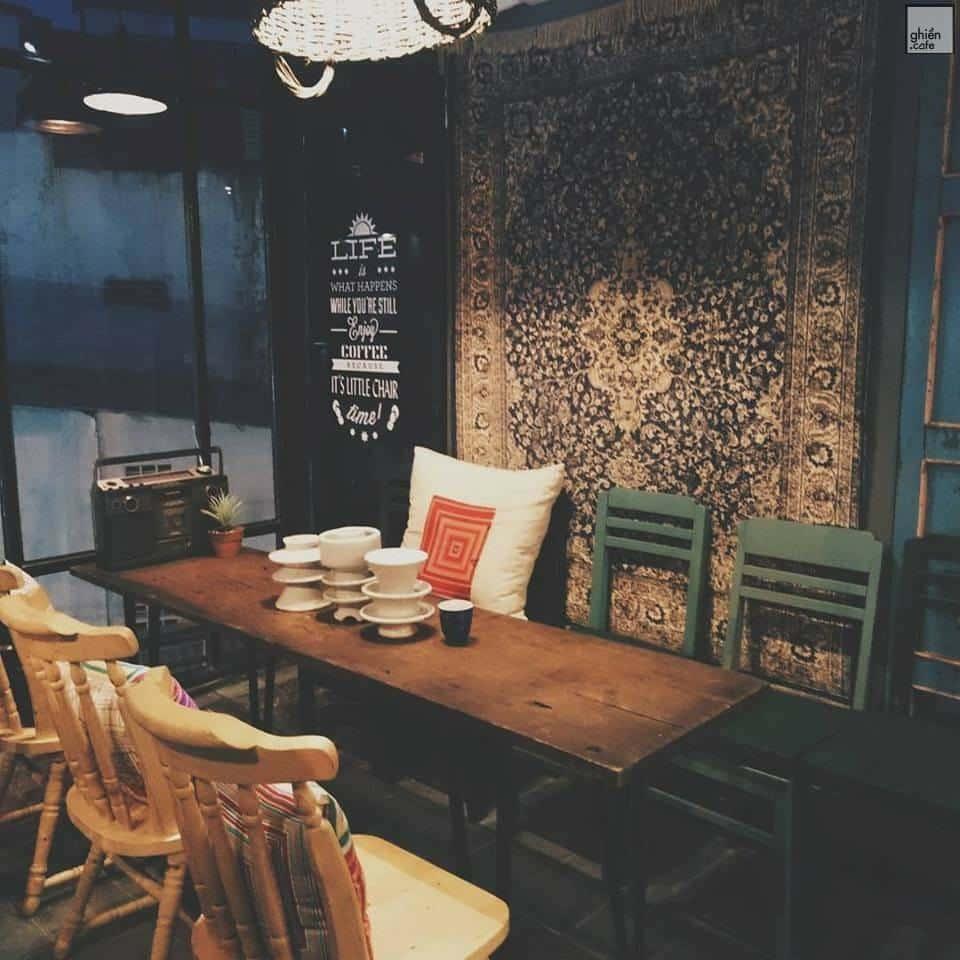 Little Chair Coffee - Nguyễn Thị Thập - Cùng tìm quán cafe đẹp, chất ở Sài Gòn - Ghiền cafe