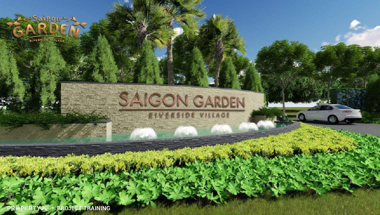 Saigon Garden Riverside Village  【Tất Tần Tật】Biệt thự VƯỜN Quận 9