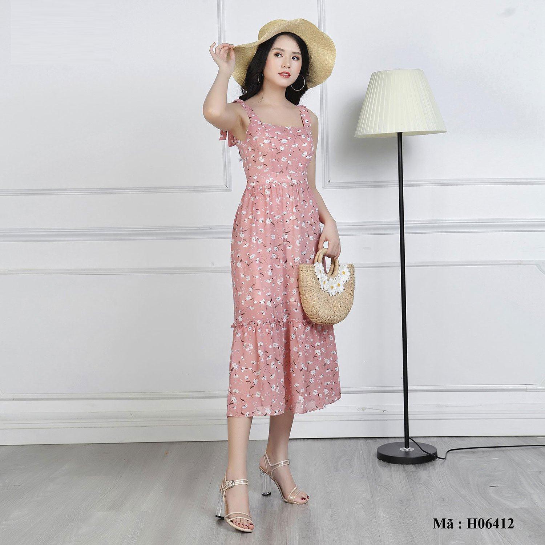 Váy(đầm) maxi hai dây Palvin Việt Nam H06412 - Thời trang Cardino, Palvin,  Palvin kid's