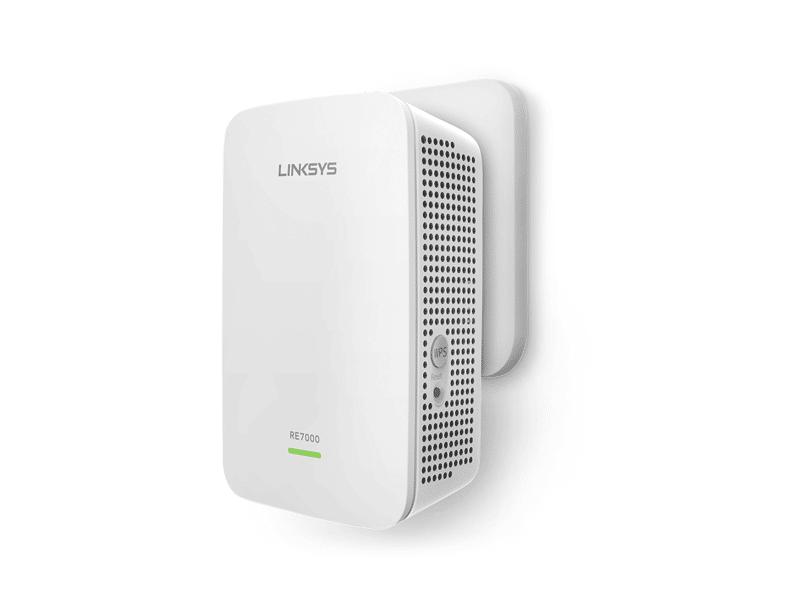 Thiết bị mở rộng sóng Wifi LINKSYS RE7000 MAX-STREAM™ AC1900+ WI-FI RANGE  EXTENDER - RE7000