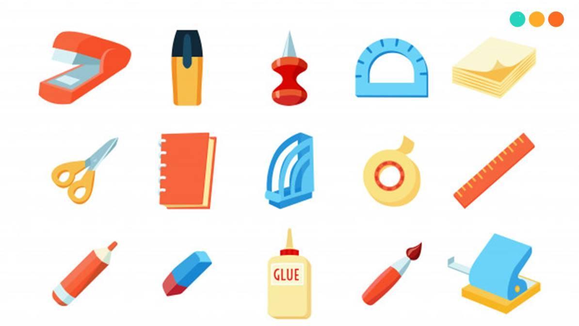 Tổng hợp 65 từ vựng tiếng Anh về đồ dùng học tập - Step Up English