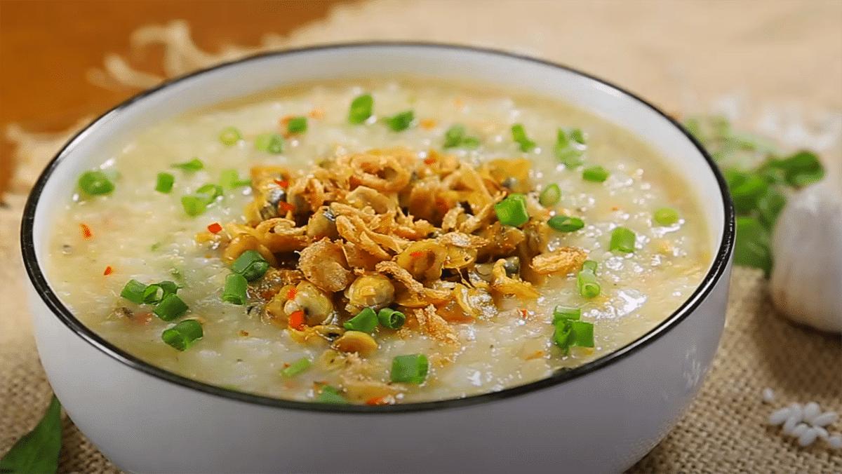 2 Cách nấu cháo hến xào cay và đậu xanh thơm ngon, bổ dưỡng
