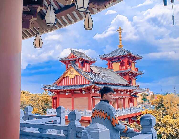 Tu Viện Khánh An Quận 12 nơi mà chụp hình theo phong cách Nhật Bản