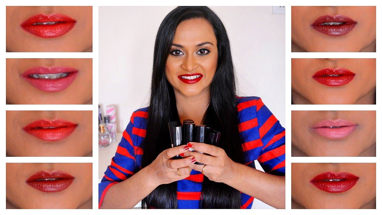 Avon True Color Lipsticks Review and Swatches - YouTube