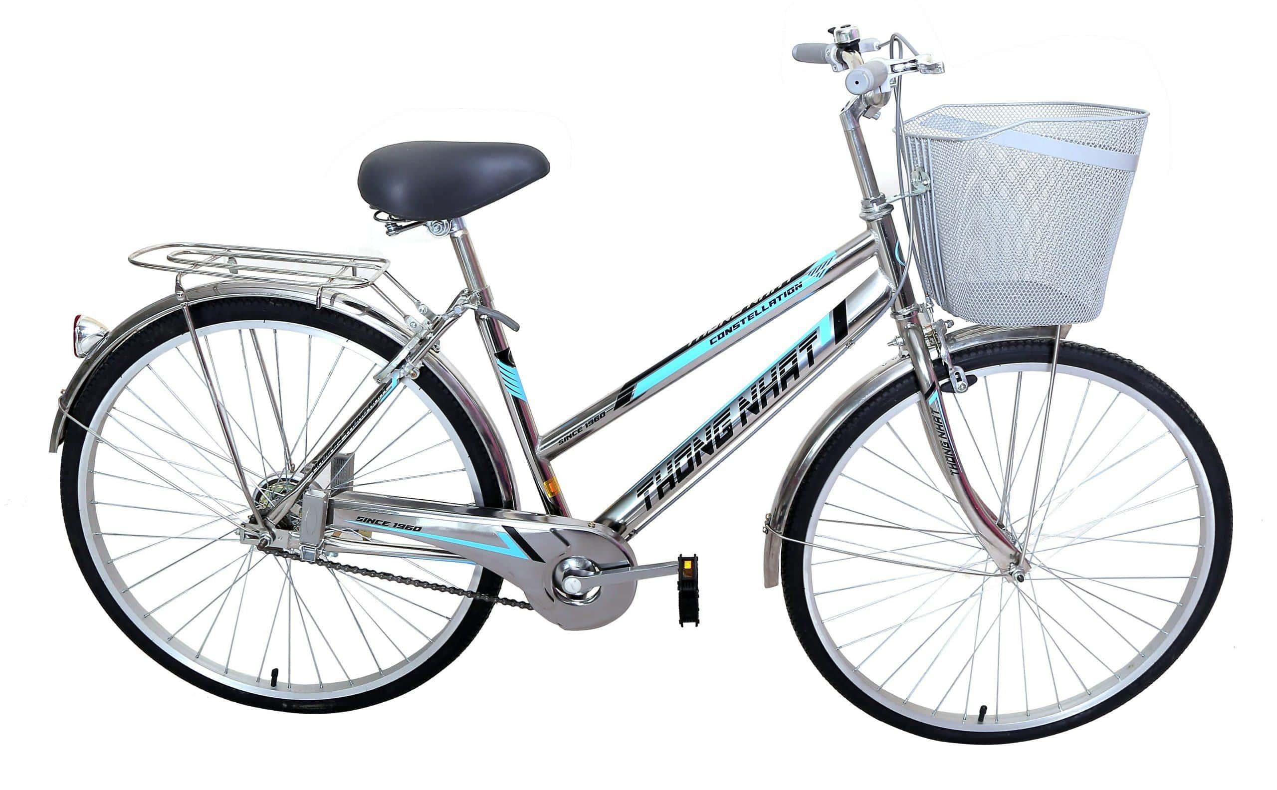 Xe đạp TN khung GN inox cỡ 26'' ( TN-GN 05-26'' ) - Xe Đạp Thống Nhất