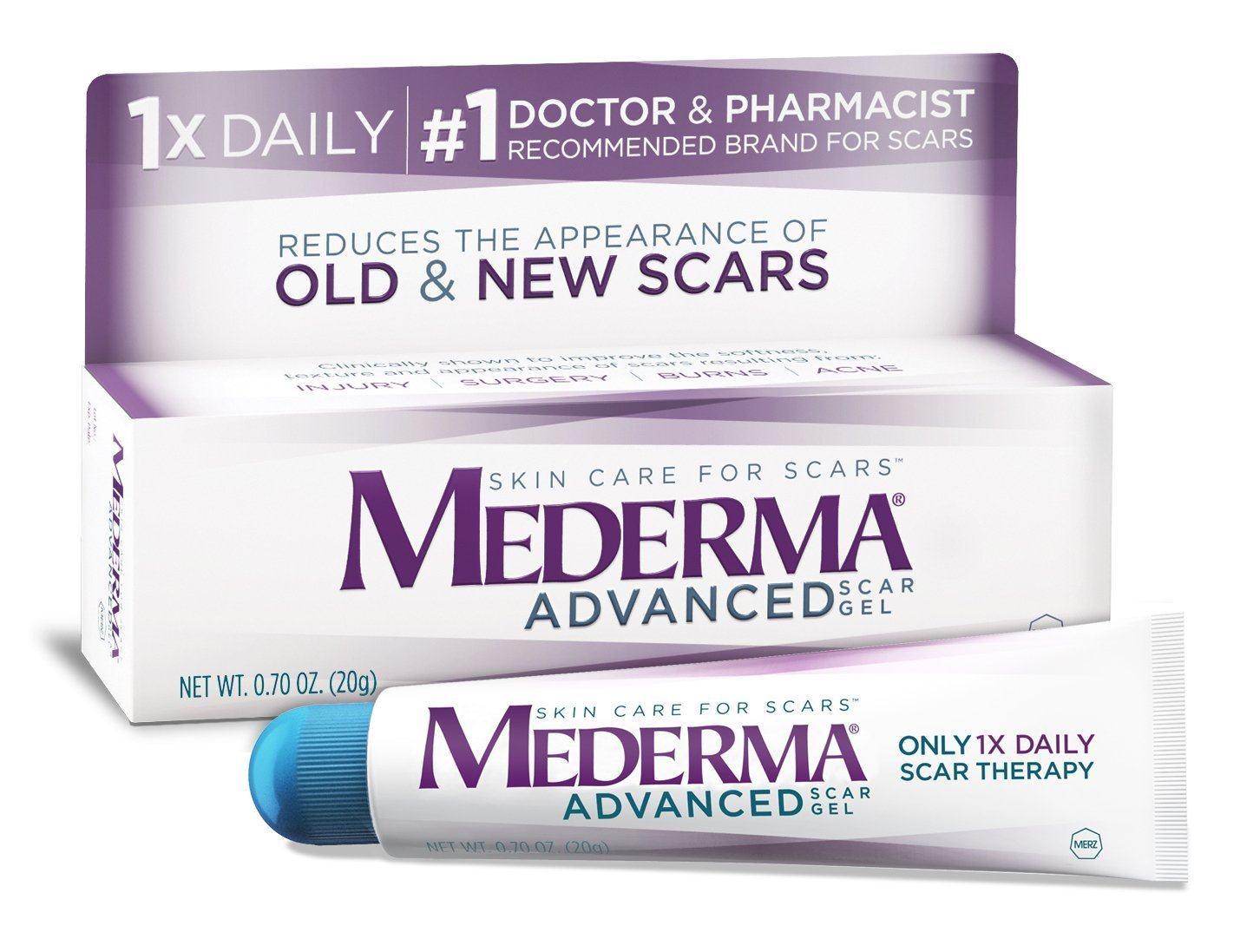 Gel trị sẹo MEDERMA® Advanced Scar Gel (20g)
