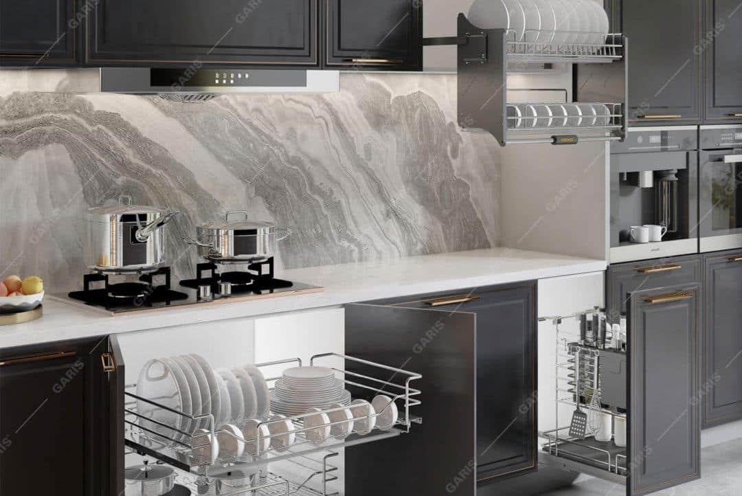 Xu hướng phụ kiện tủ bếp mới nhất năm 2021 – Bluha.vn