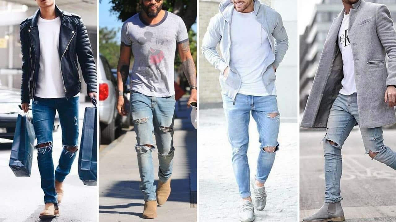 Quần jeans rách: 7 bản phối kinh điển vượt thời gian | ELLE Man Việt Nam