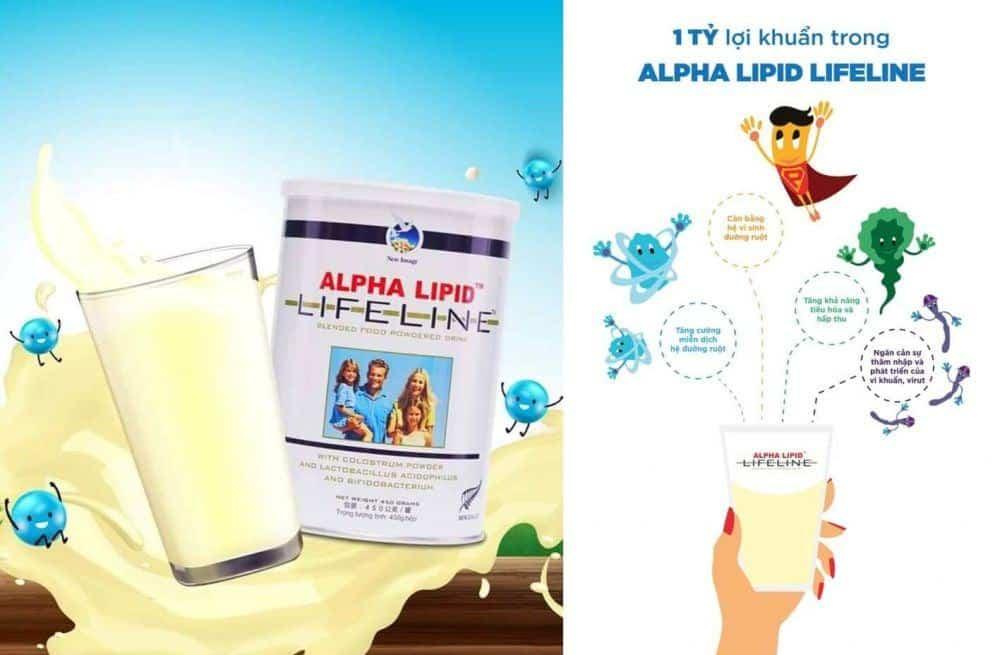 Sữa Non Alpha Lipid 2