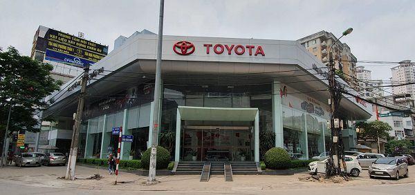 Toyota Thăng Long - 316 Cầu Giấy là đại lý Toyota 3S lớn nhất Miền Bắc