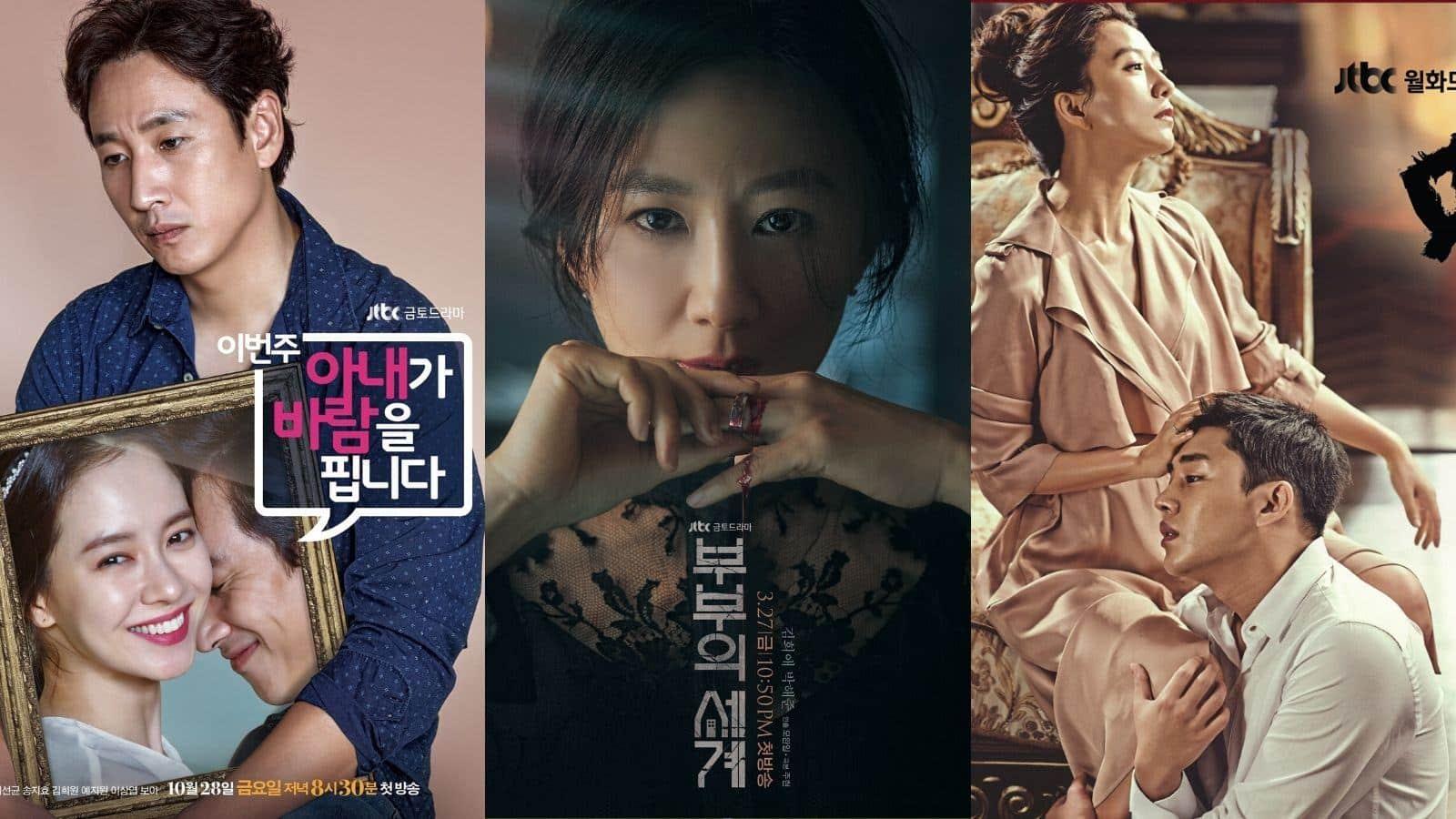 9 phim ngoại tình Hàn Quốc nói về thế giới hôn nhân | ELLE