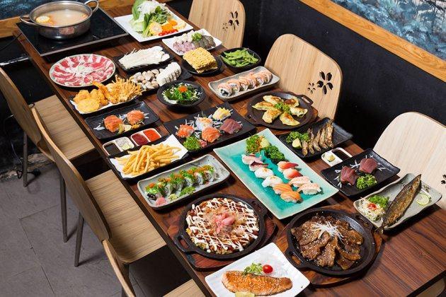 HCM - Buffet lẩu hải sản sushi thượng hàng chuẩn vị Nhật Bản tại Nhà hàng  Nijyu
