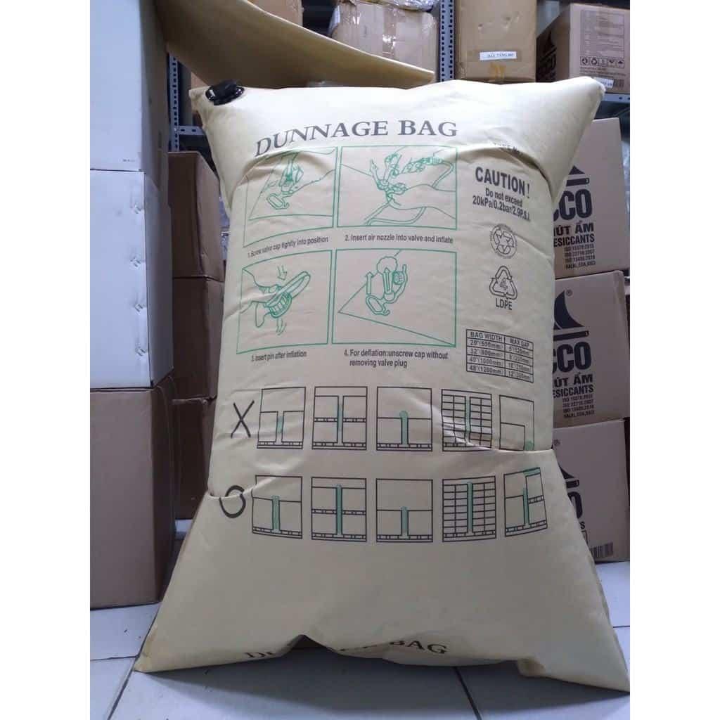 Túi khí chèn hàng Container 100x180cm Kraft (đã bao gồm VAT) | Shopee Việt Nam