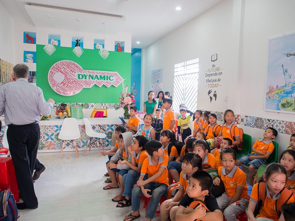 Bảo Lộc: Trung Tâm Ngoại Ngữ Dynamic khai trương địa điểm mới
