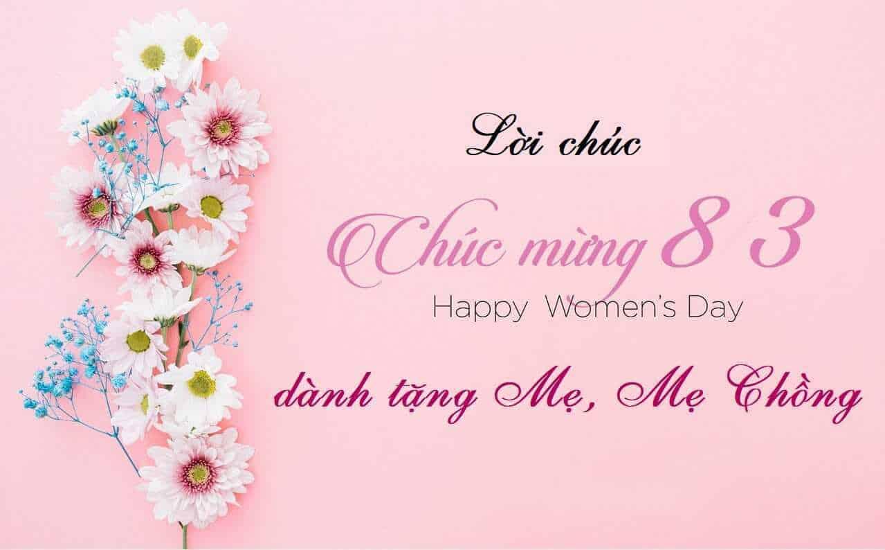 Lời chúc cho mẹ chồng, mẹ vợ ngày 8/3 hay, ý nghĩa và ngắn gọn nhất -  META.vn