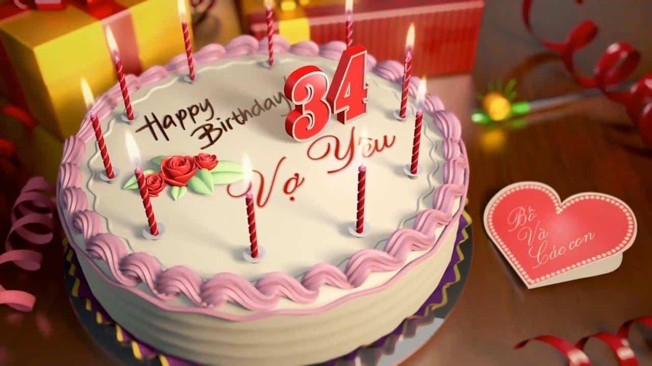Video chúc mừng sinh nhật vợ by Webpro - YouTube
