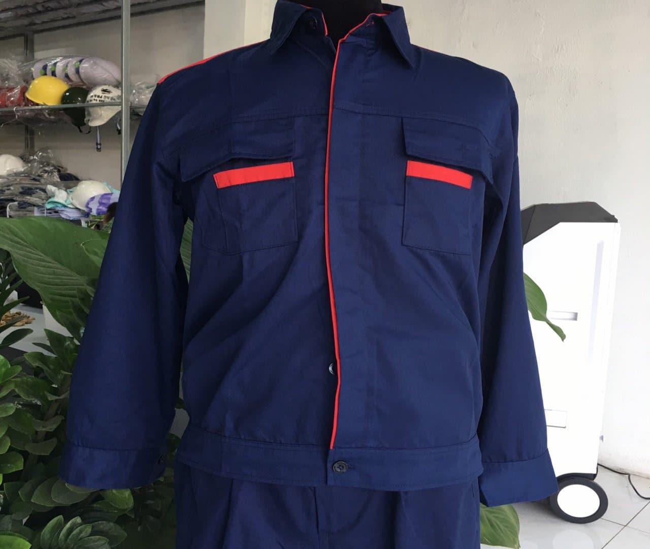 Quần áo bảo hộ lao động vải kaki - CÔNG TY TNHH TM KT ĐÀ AN