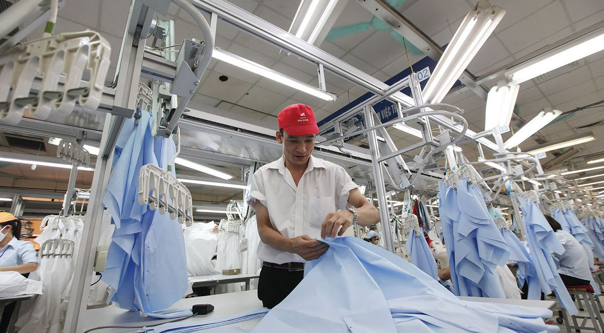 Xuất khẩu hàng dệt và may mặc tăng 19% trong hai tháng đầu năm