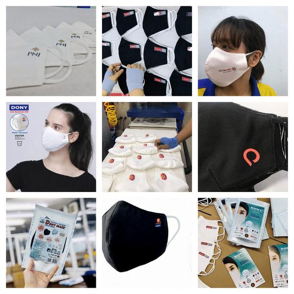 Top 6 cơ sở in khẩu trang vải tốt nhất HCM (1)