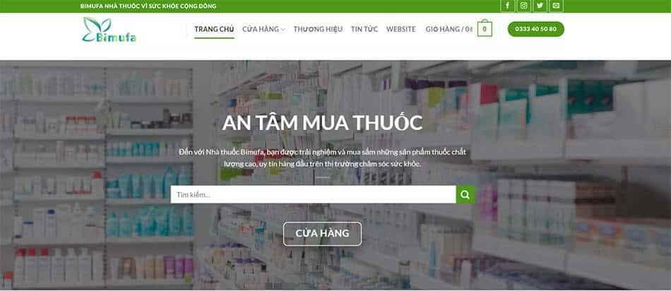 Nhà thuốc online Bimufa