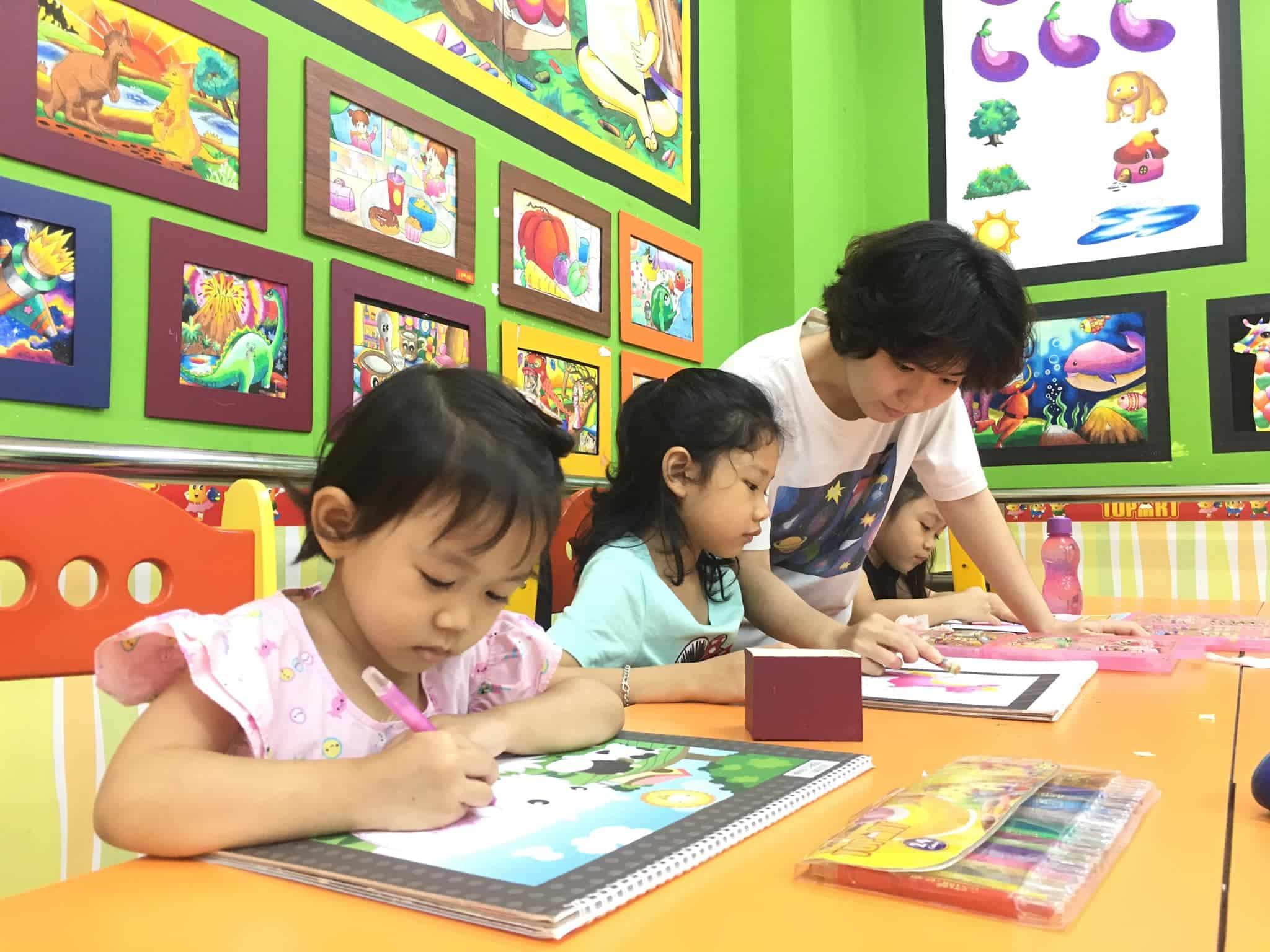 Nhu cầu học vẽ cho trẻ em tại TopArt - Mỹ Thuật TopArt