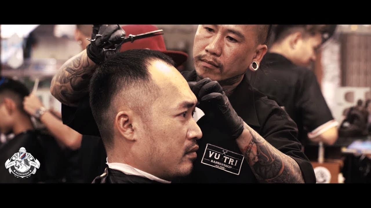 Barbershop Vũ Trí & Diễn viên hài Tiến Luật - YouTube