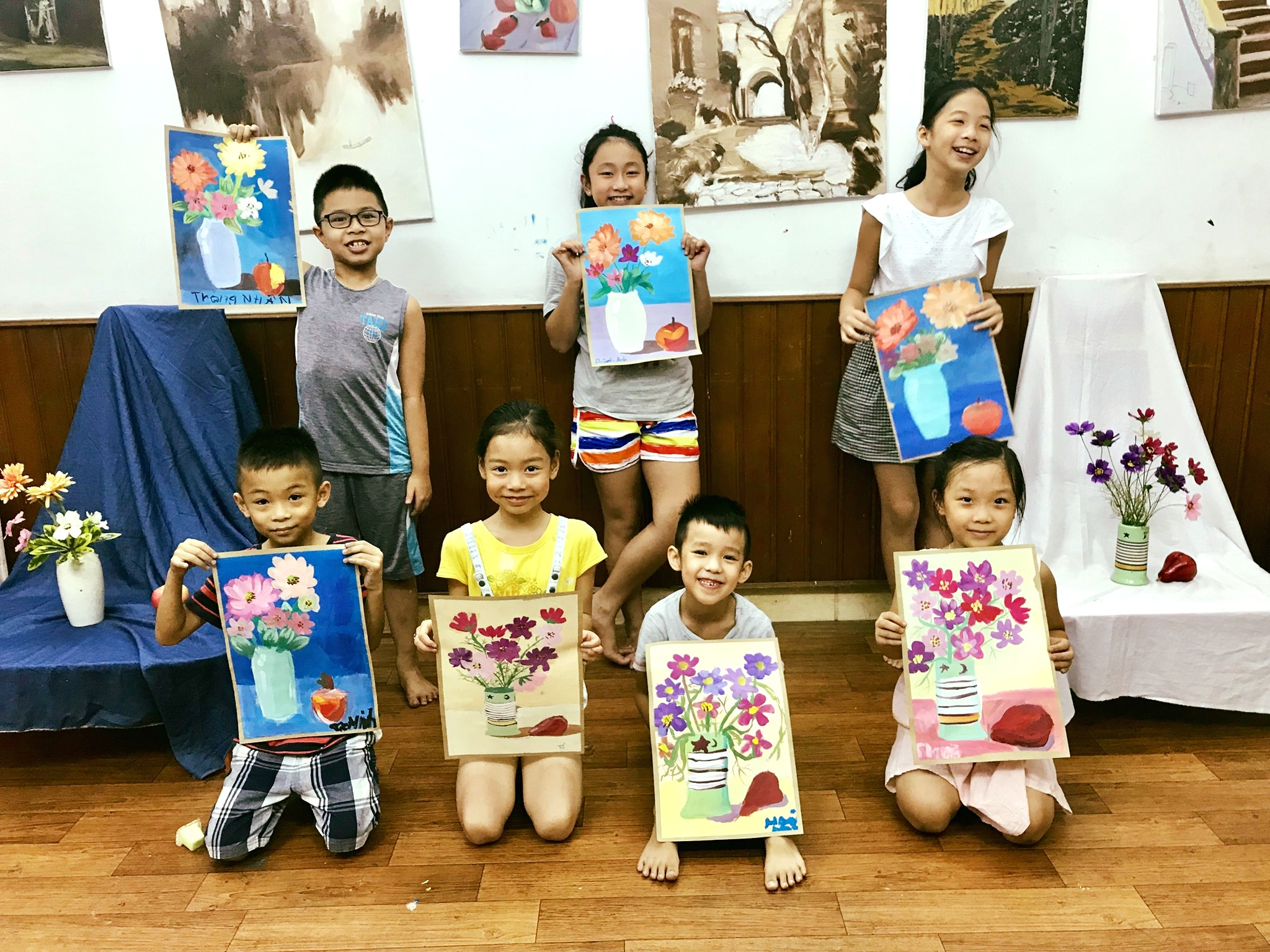 Bụi Nhỏ – Lớp Học Vẽ Cho Trẻ Em Đống Đa Hà Nội
