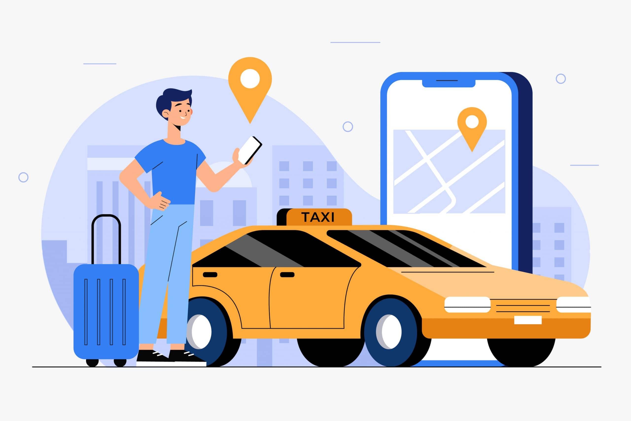Thiết kế app taxi ở đâu uy tín – chất lượng cho doanh nghiệp năm 2021