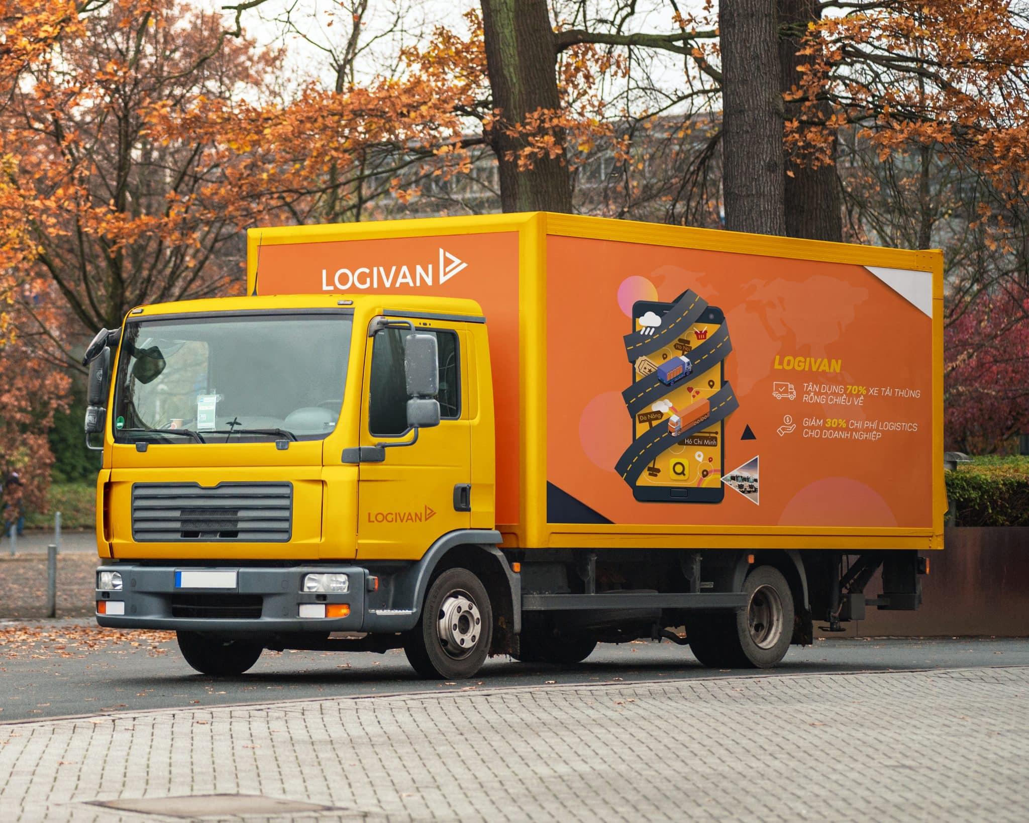 Ứng dụng cho xe tải tìm hàng nhanh LOGIVAN đơn giản tiện lợi