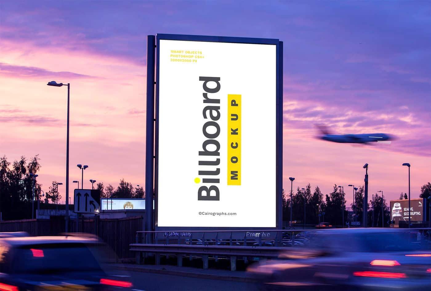 Billboards Vol.2 Product Mockup #76182 - TemplateMonster | Billboard mockup, Billboard, Mockup templates
