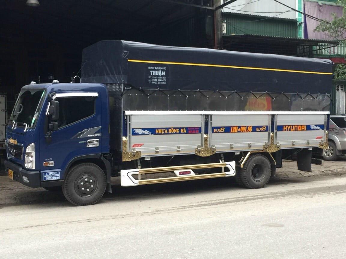 Đóng thùng, sửa thùng xe tải uy tín bền đẹp ~ HYUNDAI MIỀN BẮC