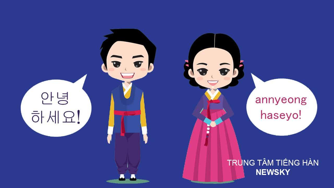 Trung tâm học tiếng Hàn hiệu quả   TRUNG TÂM NGOẠI NGỮ NEWSKY