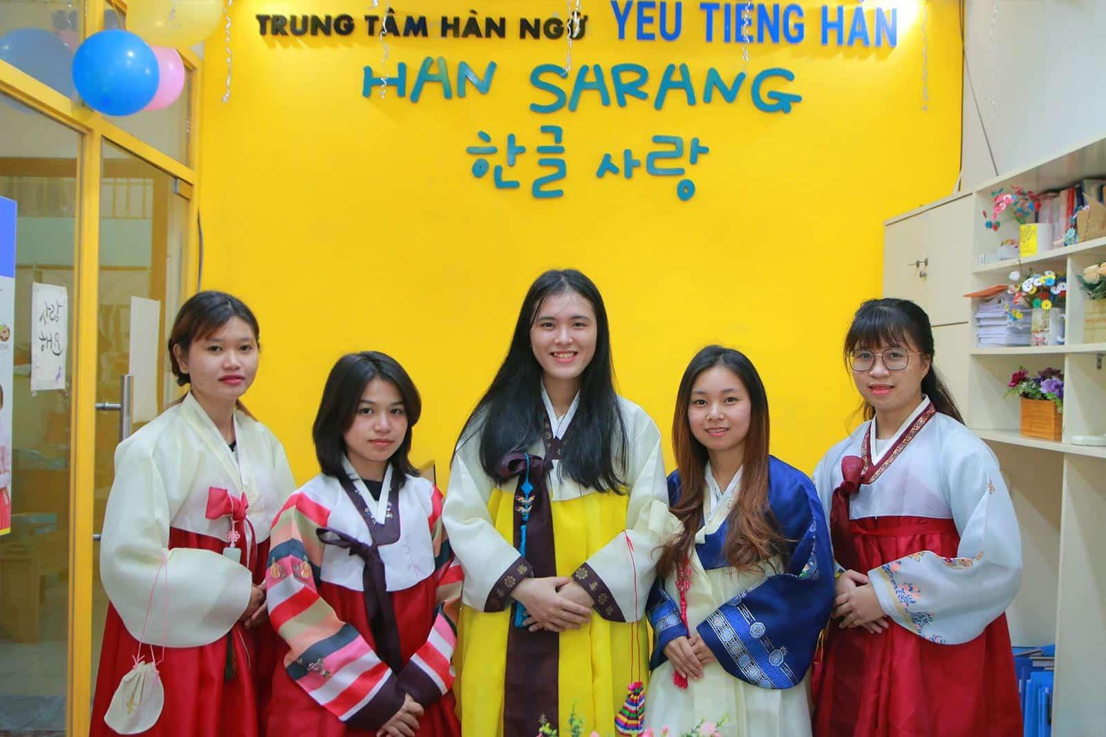 Hàn ngữ Han Sarang   Trung tâm Hàn ngữ Quận Tân Bình – Bình Thạnh TPHCM
