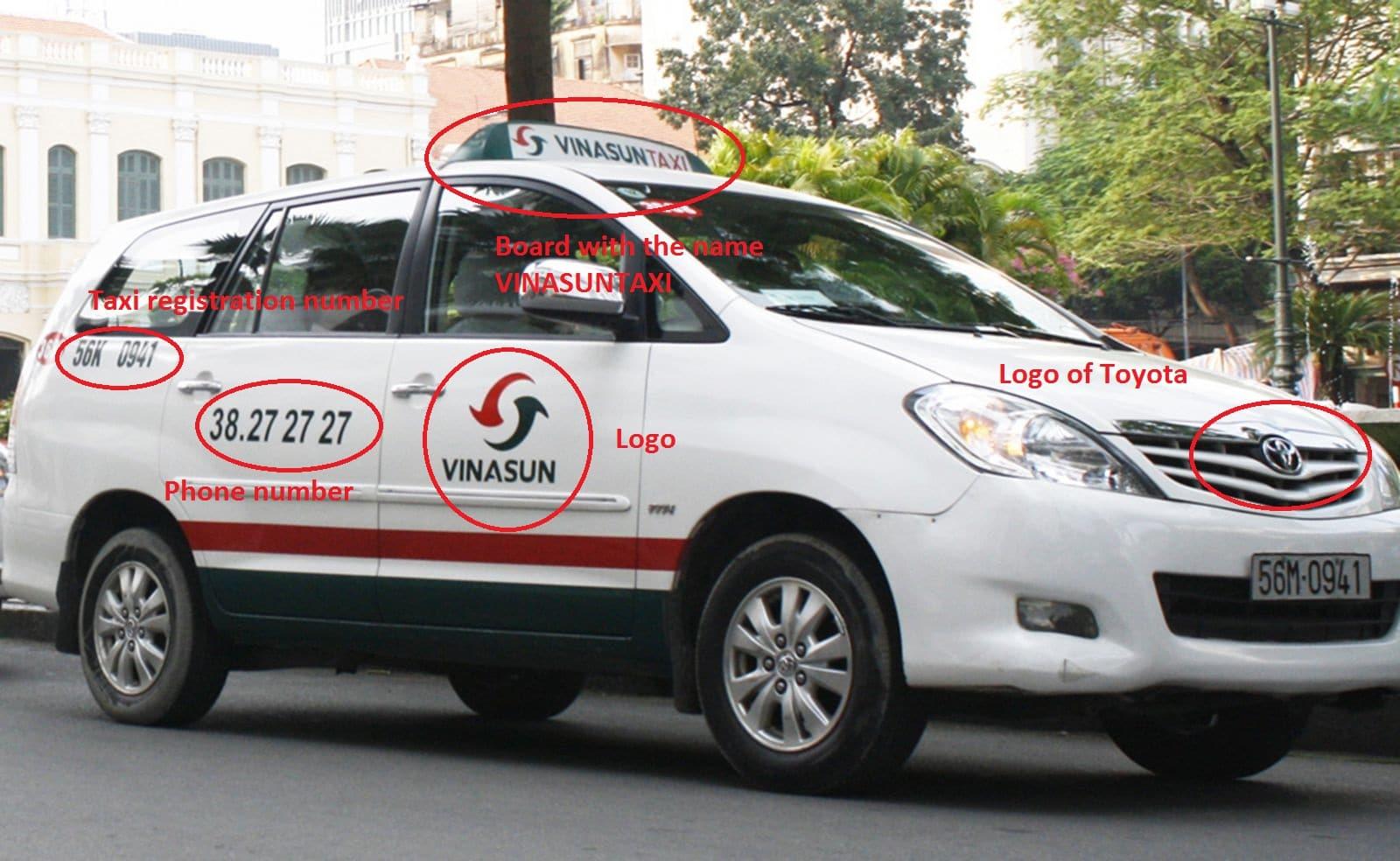 original vinasun taxi - Scooter Saigon Tour